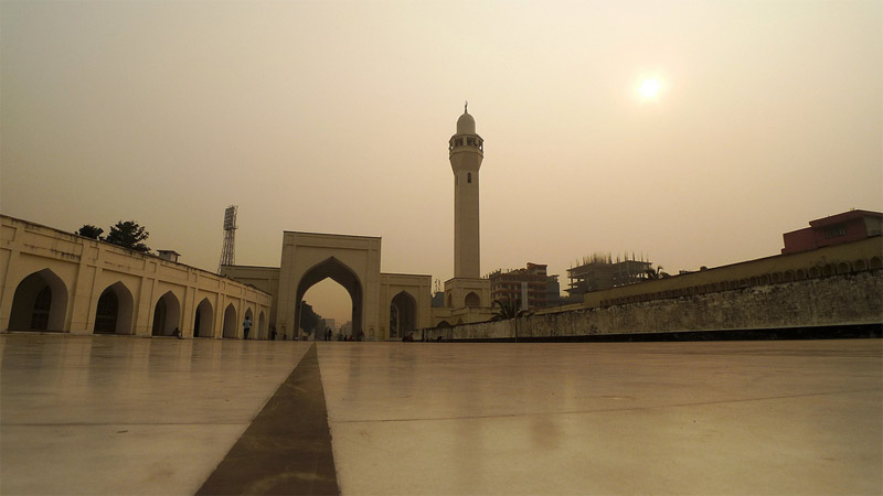 Travel to Bangladesh Baitul Mukarram Mosque
