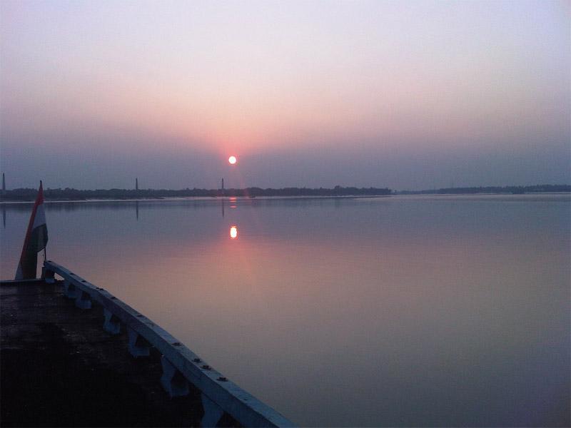 Travel to Bangladesh Ichamati River
