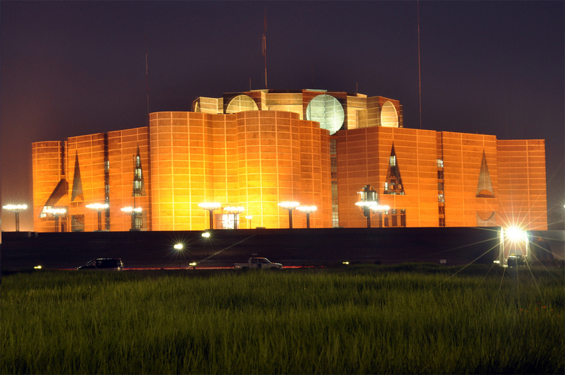 Travel to Bangladesh Parliament House