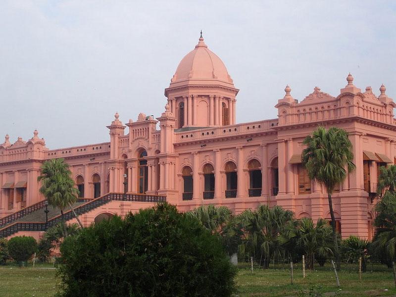 Travel to Bangladesh Ahsan Manjil