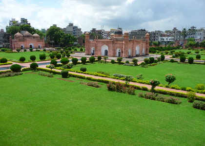 Travel to Bangladesh Lalbagh Fort