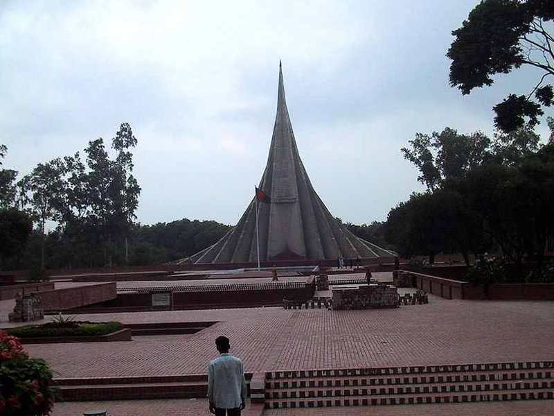 Travel to Bangladesh National Martyrs Memorial