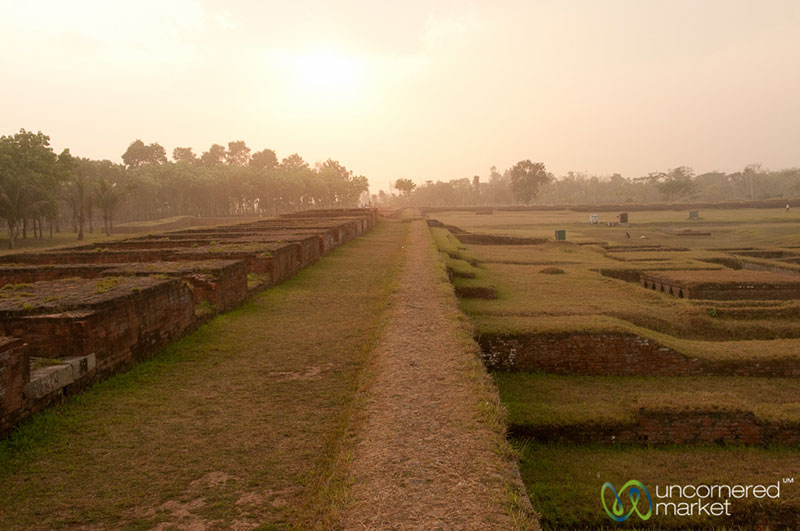 Travel to Bangladesh Paharpur Buddhist Monastery