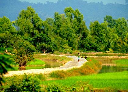 Travel to Bangladesh Shopnopuri