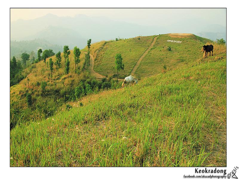 Travel to Bangladesh Keokradong